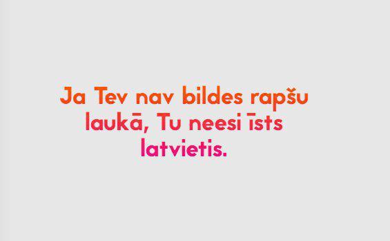 Autors: ĶerCiet 26 tipiskas nacionālās īpatnības, kuras sapratīs tikai īsteni latvieši