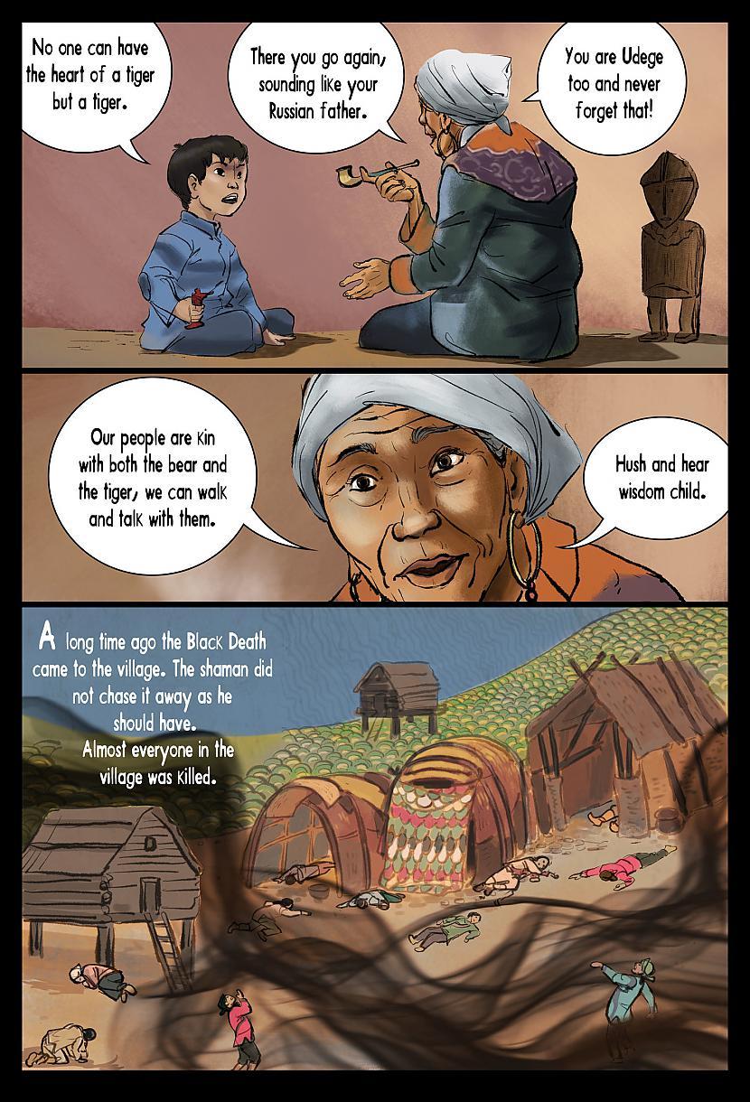 Autors: ĢenerālisHansijs Komikss: ''The Ghost of Gulag'' [8]