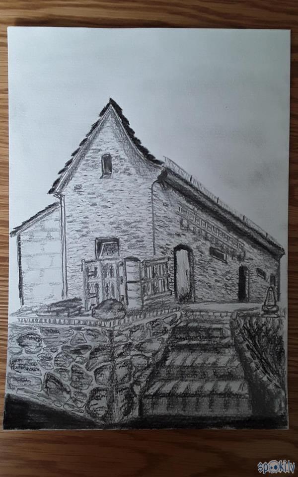 zīmulis parastais sena māja... Autors: azulum Vēl daži zīmējumi