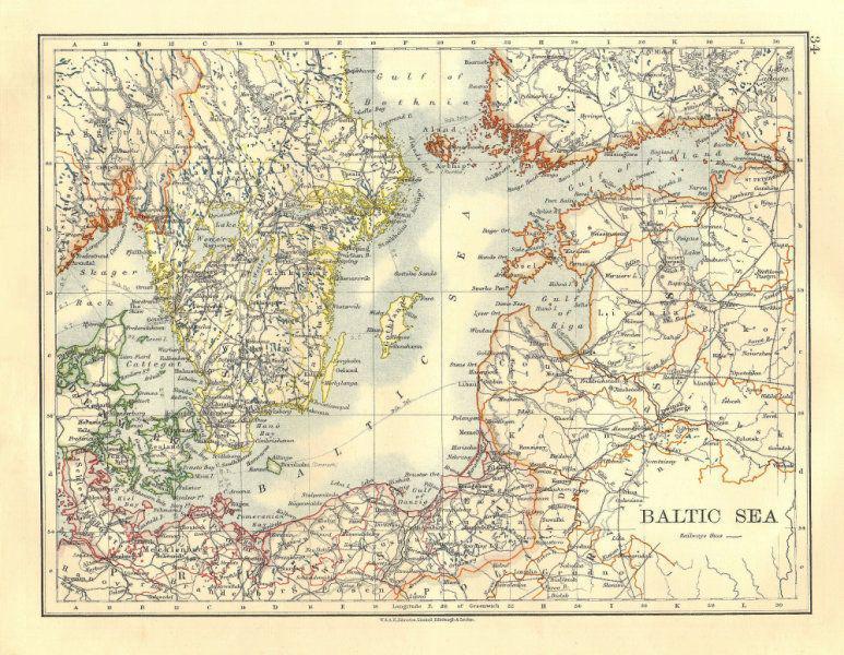Kā Baltijas jūra ieguva savu... Autors: Plane Crash central Atbildes uz interesantiem ar vēsturi saistītiem jautājumiem (13)