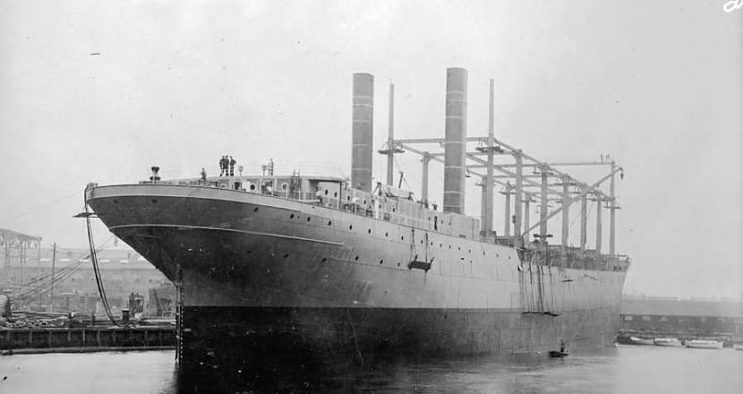 Kopscaron 1910gada kad tas... Autors: Testu vecis Bermudu trijstūra mistērija: Kas notika ar ASV ogļu transportkuģi USS Cyclops?