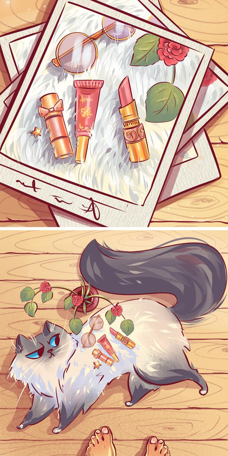 Vēl viens tikai sievietēm... Autors: matilde 10 tipiskas situācijas, kurās sevi var atpazīt KATRS kaķa saimnieks