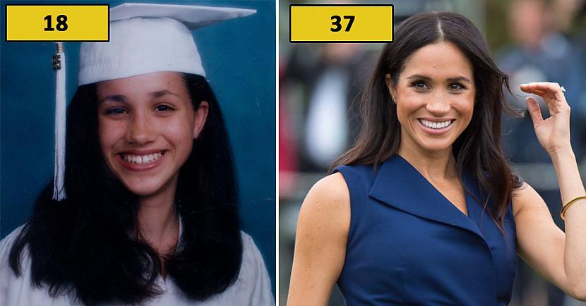 Prinča Harija sieva Megana Autors: matilde Foto: Kā karaliskās ģimenes pārstāvji izskatījās 18 gadu vecumā?