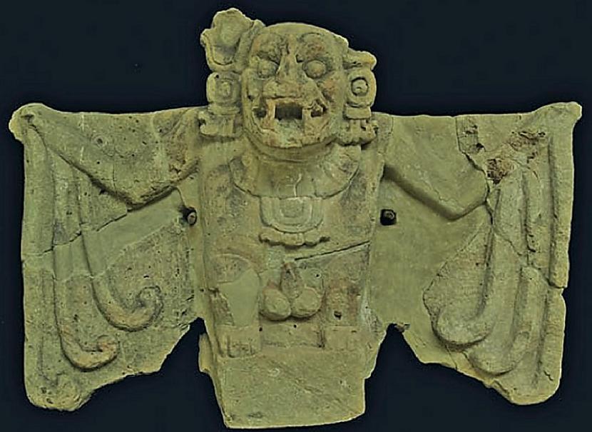 Scaronī senā dieva apraksts ir... Autors: Lestets Kamazots - seno maiju sikspārņdievs, ko pielūdza pirms 2500 gadiem