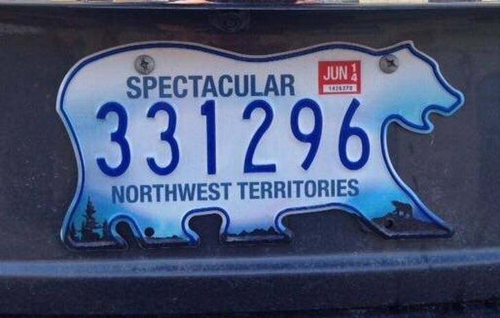 Ziemeļu teritoriju numuru... Autors: Lestets 18 lietas, kas pierāda, cik unikāla valsts ir Kanāda