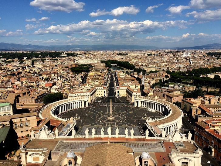nbspVisa mazā valsts atrodas... Autors: Lestets 15 fakti par Vatikānu, kuriem ir ļoti grūti noticēt