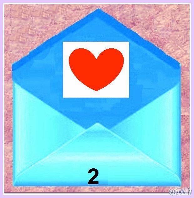 2 Panākumi sirdslietās lai... Autors: rasiks Tev jauna vēstule