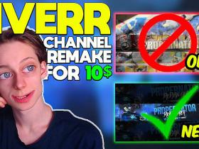 I PAID 10$ on FIVERR for a channel REBRAND!