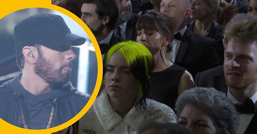 Scaronī... Autors: matilde Labākās skatītāju reakcijas no Eminema negaidītās uzstāšanās «Oskara» ceremonijā