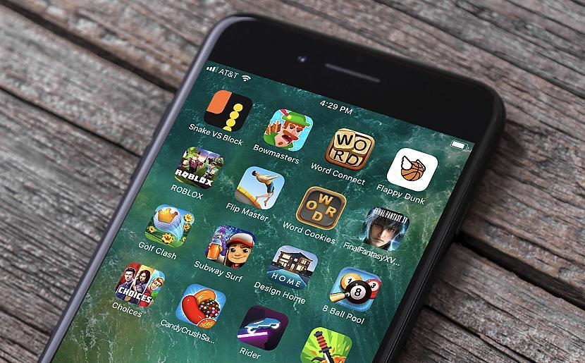 Autors: Datuvelv Spēļu evolūcija mobilajos tālruņos