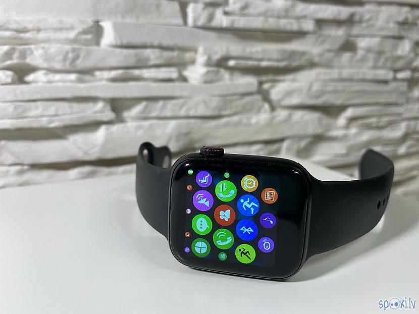 Autors: RULY Produkts, kas pārsteidza, bet Apple Watch Series 4 kopija