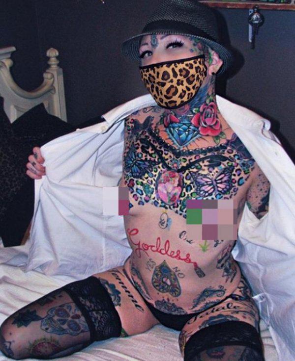 Autors: Fosilija Meitene, kura izveidoja vienu  tetovējumu, bet nespēja apstāties
