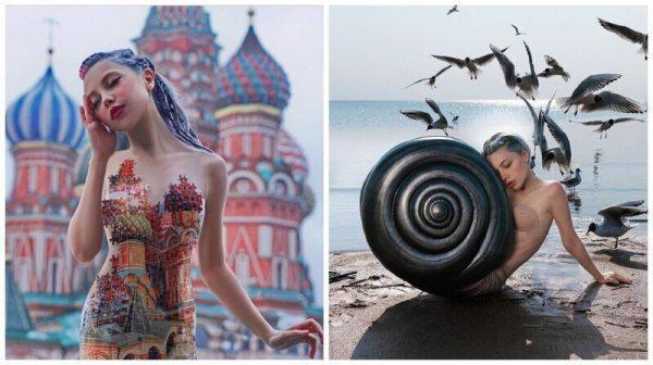 Sociālajos tīklos Jeļena... Autors: Fosilija 35 ekscentriskas krievu mākslinieka provokācijas