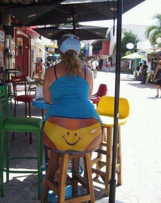 Krēsla atzveltne bet tu ko... Autors: Fosilija 15 maldinošas fotogrāfijas