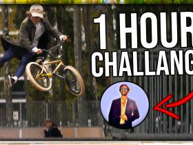 BMX edit in 1 HOUR (Challenge)