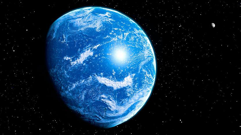 Autors: Spoku Joks Zeme bijusi pilnībā klāta ar ūdeni
