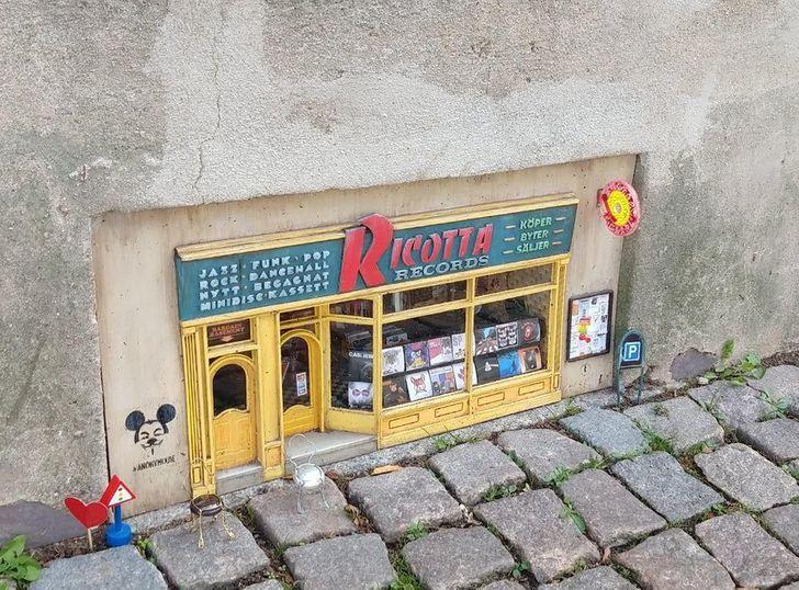 ierakstu veikals pelēm Lundā Autors: Lestets 19 iemesli, kāpēc Zviedrija ir no citas pasaules