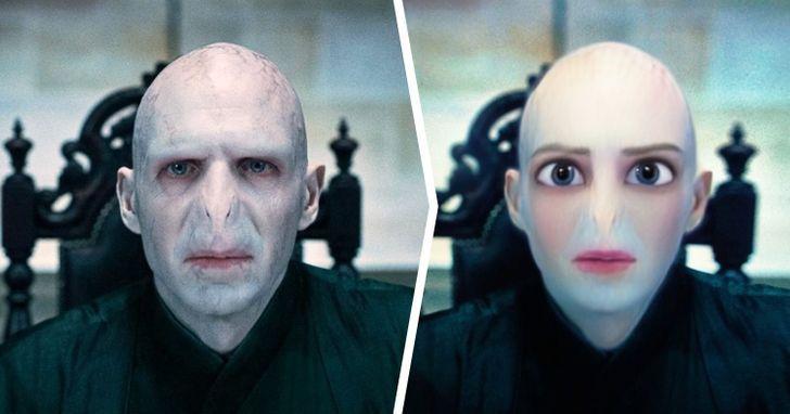 Lords Voldemorts laquoHarry... Autors: matilde Kā izskatītos 18 filmu un seriālu tēli, ja tie būtu «Disney» multfilmās