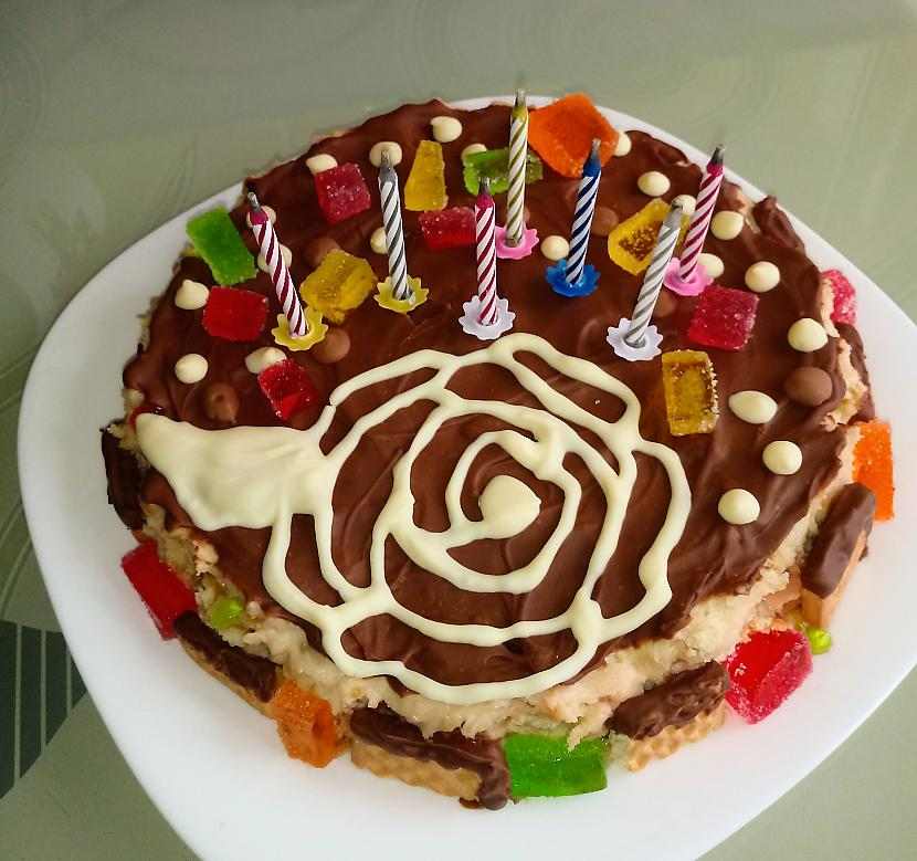 Un tā pēc visām veiktajām... Autors: supciks10 Ikgadējā tradīcija - kūka sev