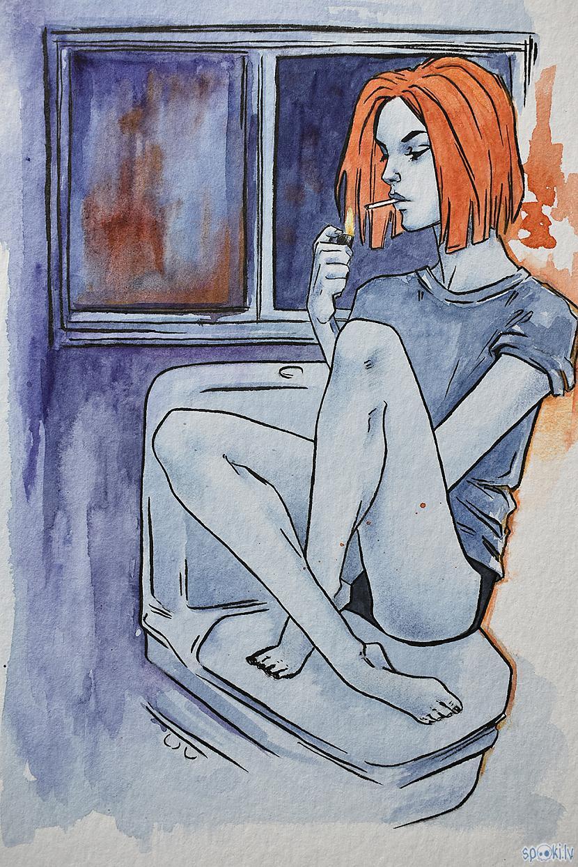 Teh final piece Paldies par... Autors: Madder Sirsniņdiena 2021 (No skices līdz Krāsai)