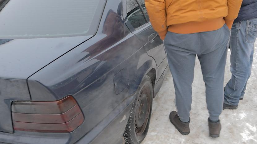 Autors: MyPlace Tautā sauktais WinterBeater, jeb Ziemas misene / BMW 325i