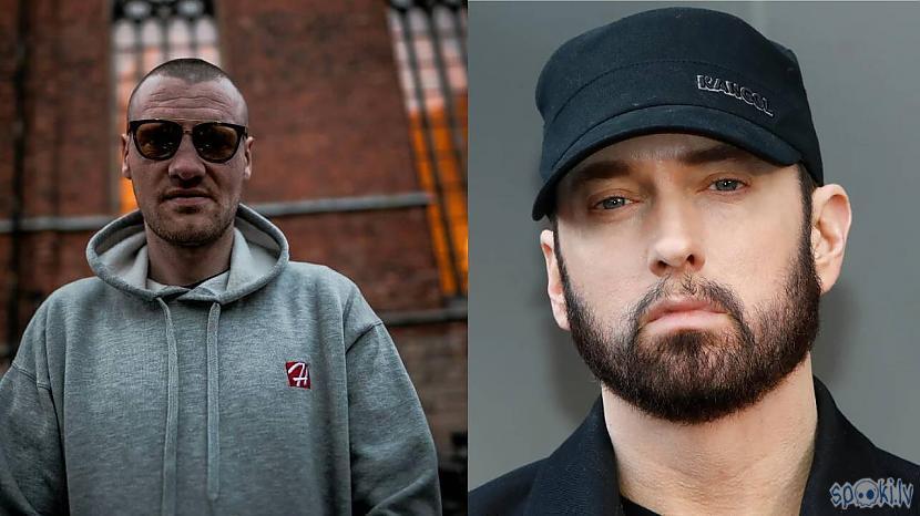 Nātre un Eminem Autors: Dāniels Ignatovičs Kurus Latvijas Reperus var pielīdzināt ASV Reperiem.