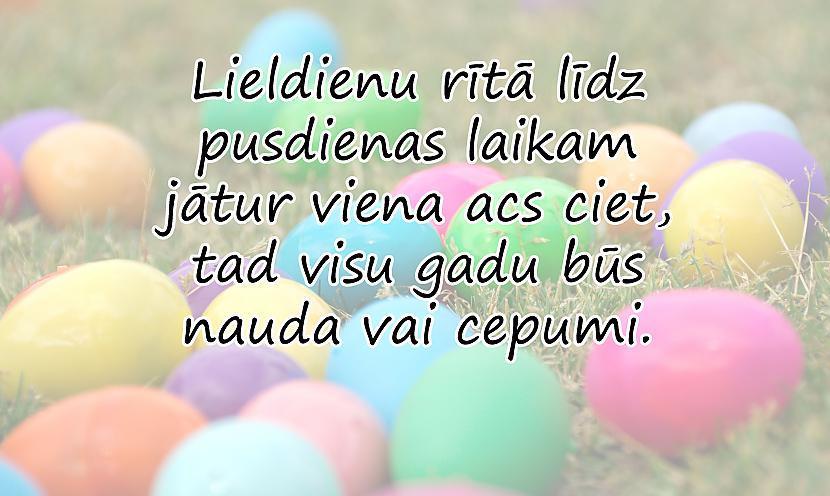 Autors: spokixd.lv Kas ir Lieldienas un kāpēc Lieldienās krāso olas?