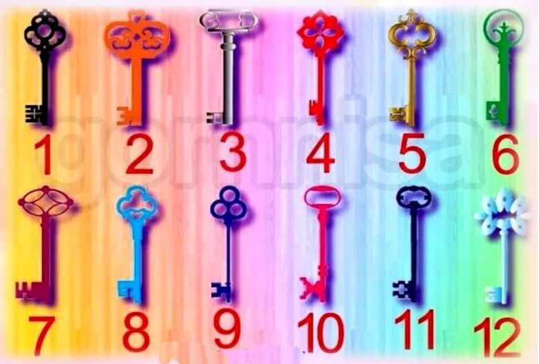 """Pirmā atslēgaMelnā atslēga... Autors: Zibenzellis69 """"12 atslēgas"""". Uzzini, vai tava vēlēšanās piepildīsies!"""