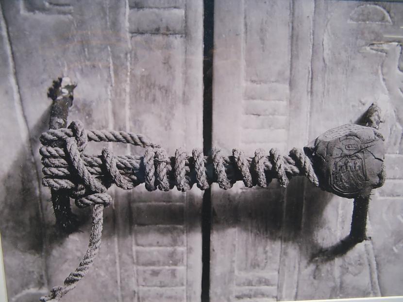 Attēls ar neskartu Tutanhamona... Autors: The Diāna 20 fakti, kuri tevi pārsteigs
