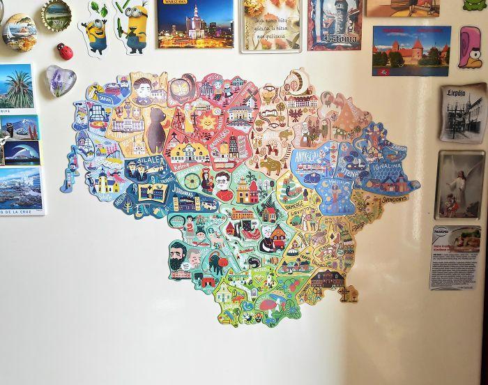 Lietuvas karte kas ir... Autors: Lestets 20 neparastas kartes, kas var mainīt perspektīvu