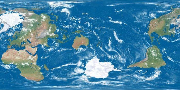 Neparasta karte Jo tās centrā... Autors: Lestets 20 neparastas kartes, kas var mainīt perspektīvu