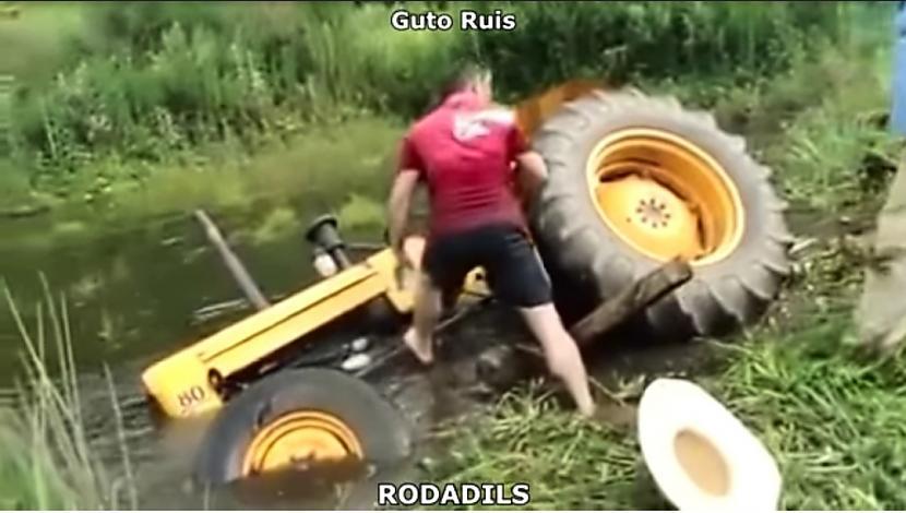 Autors: Zibenzellis69 Traktoristu interesanto piedzīvojumu izlase #1 🚜