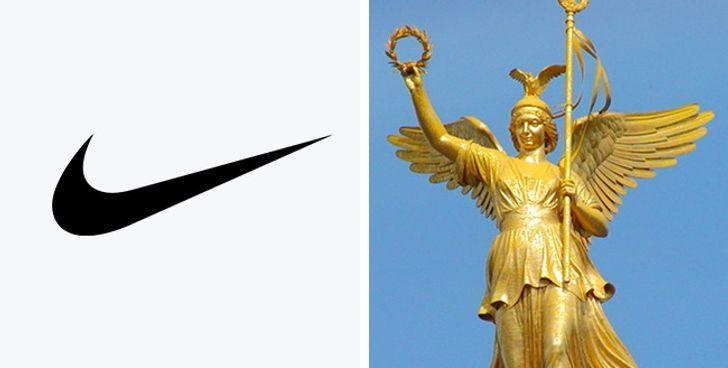 Nike1975 gadā studente vārdā... Autors: The Diāna 11 apslēptas simboliskas nozīmes pasaulslavenos logo