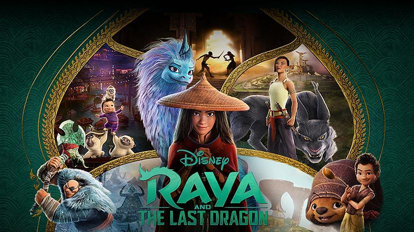 Stāsta morāle  draudzība ir... Autors: Hellsing Raya and the Last Dragon - Avatar 2.0?
