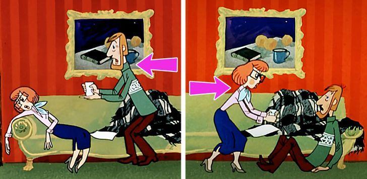 Vēl viena interesanta detaļa... Autors: Lestets 25 padomju laiku multfilmu kļūdas, ko pamanīs vien piekasīgākie pieaugušie