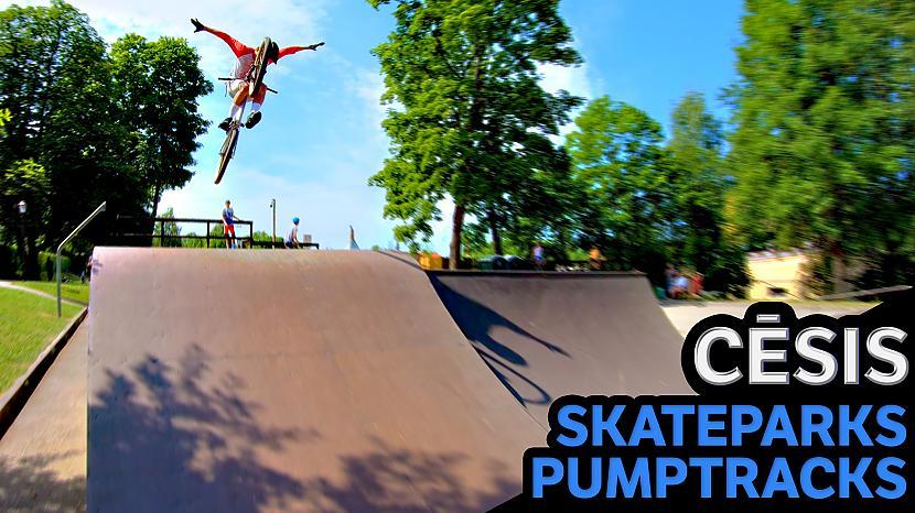 Autors: Ansis Blumbergs Cēsis / pumptrack sacensības / skatepark