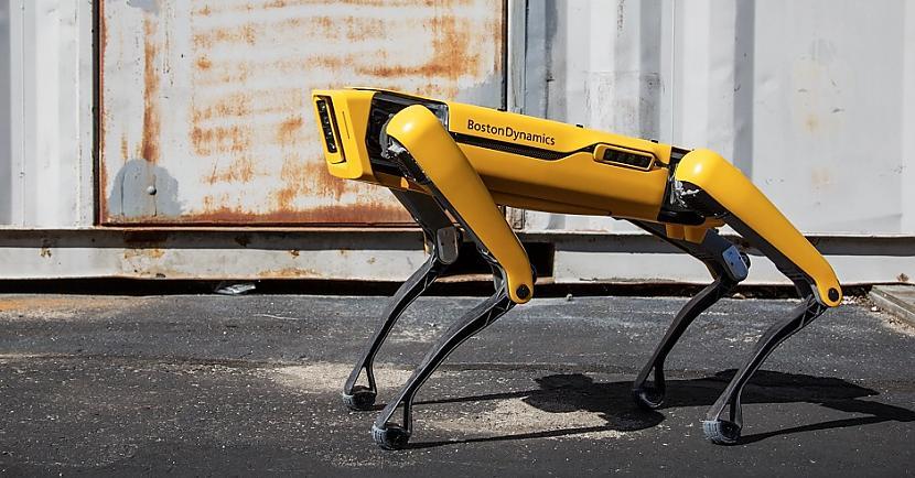Tas vēl nav viss Neaizmirsīsim... Autors: Lestets Robokopi un robosuņi: vai policijas nākotne?