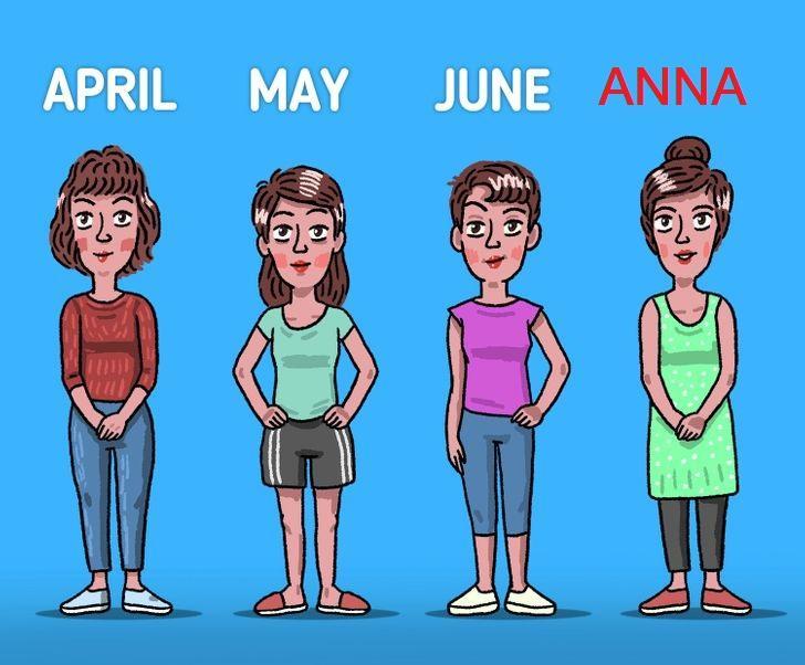 Ceturto māsu sauc Anna Autors: The Diāna 7 «smadzeņmežģi», uz kuriem ne visi var atbildēt pareizi