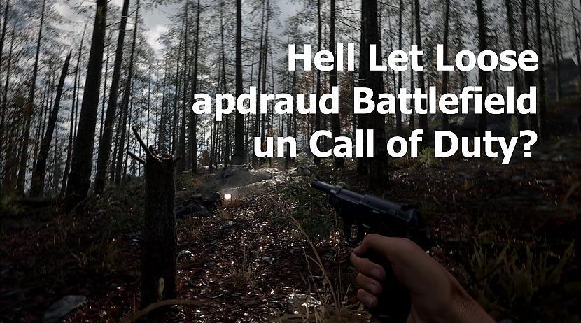 Autors: Skhen Vai austrālieši ar Hell Let Loose gāzīs no troņa Battlefield un Call of Duty?