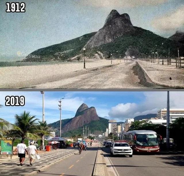 Riodežaneiro Brazīlija Autors: Lestets Toreiz un tagad: Kā laika gaitā ir mainījušās šīs vietas?