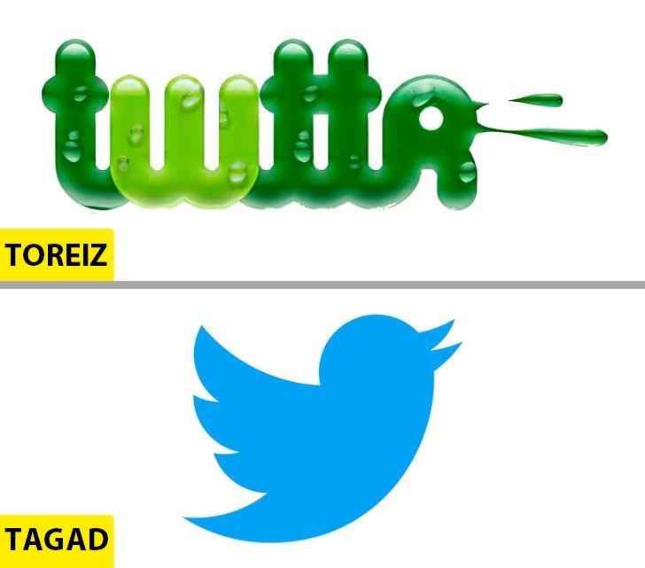 TwitterMums tik ļoti... Autors: Lestets Kā pēdējo 50 gadu laikā ir mainījušies slavenu brendu logo?