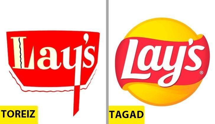 LayrsquosKopscaron 1940 g logo... Autors: Lestets Kā pēdējo 50 gadu laikā ir mainījušies slavenu brendu logo?