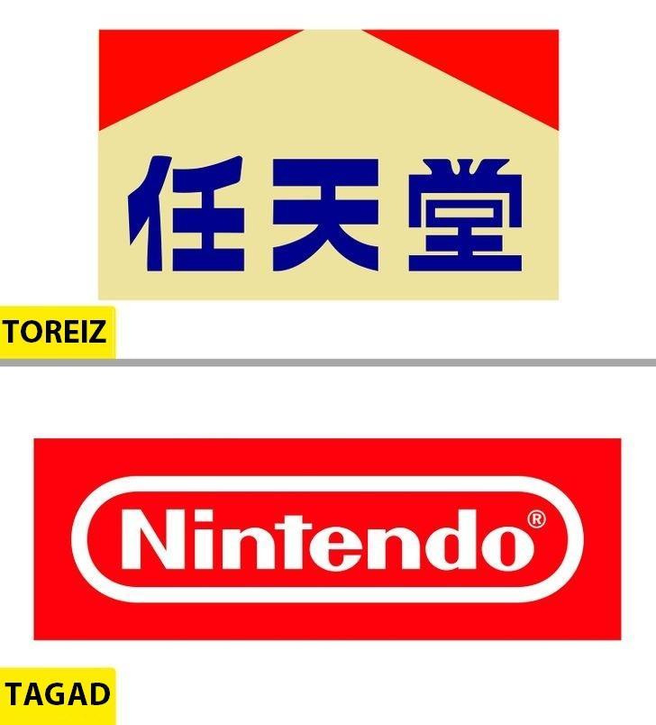 NintendoLai arī kompānija ir... Autors: Lestets Kā pēdējo 50 gadu laikā ir mainījušies slavenu brendu logo?